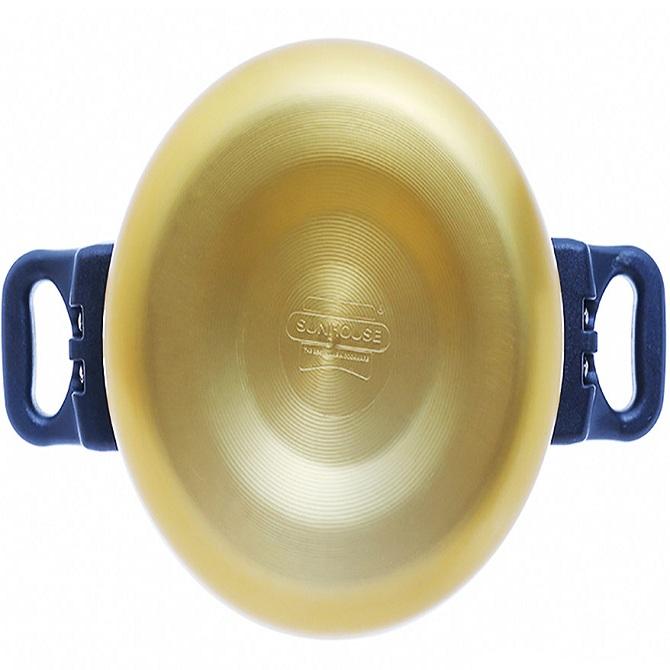 Nồi Áp Suất Anod Sunhouse SHA8604 (6L) Màu Vàng