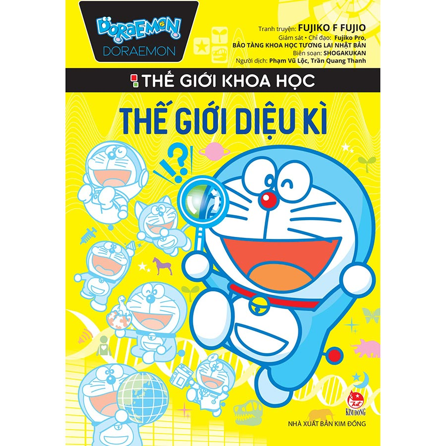 Combo 5 Cuốn: Doraemon Thế Giới Khoa Học