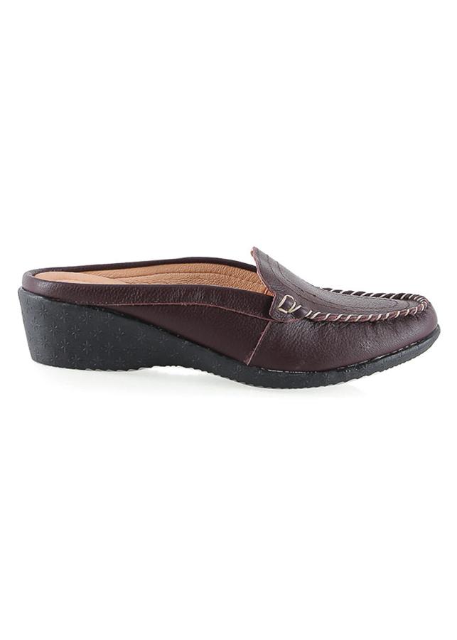 Giày Sabo Nữ Da Bò Huy Hoàng HT7937 - Nâu Đất