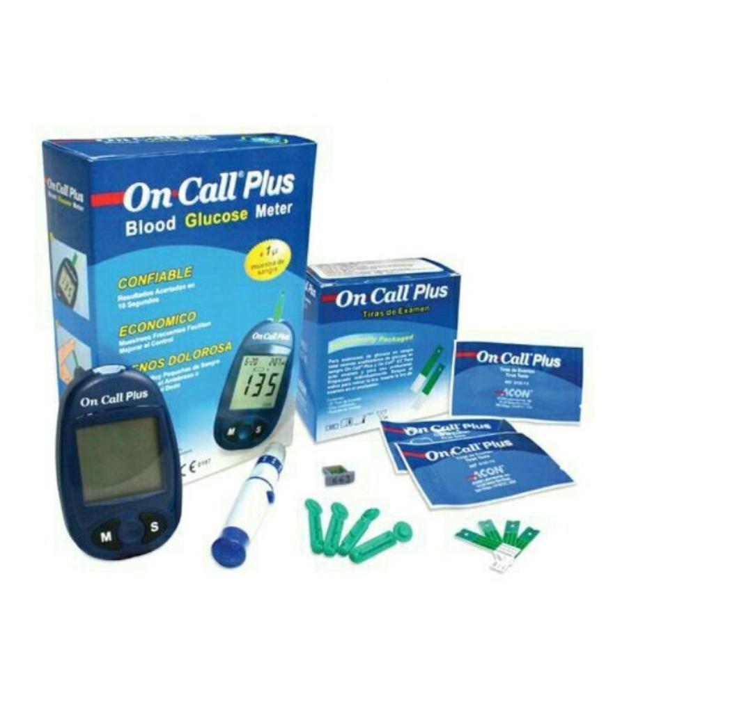 Bộ Máy Đo Đường Huyết Acon On Call Plus + Tặng hộp 25 que thử