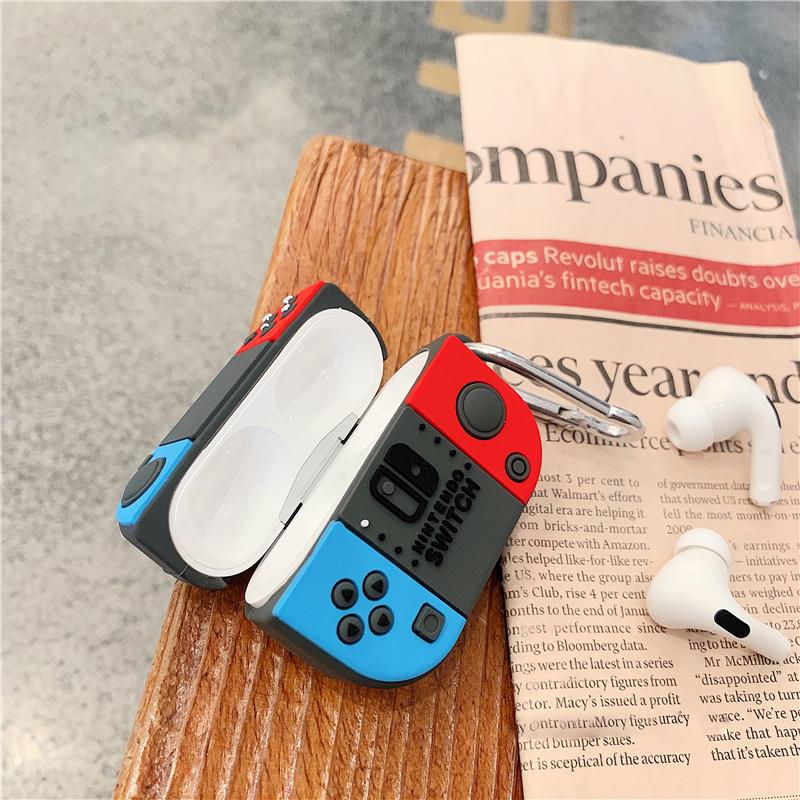 Bao Case Cho Airpods Pro Hình Máy Game Switch