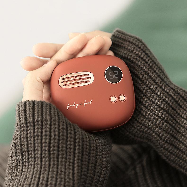 Máy sưởi ấm mini cầm tay kiêm sạc dự phòng Xiaomi Liberfeel T-40 - Hàng Nhập Khẩu