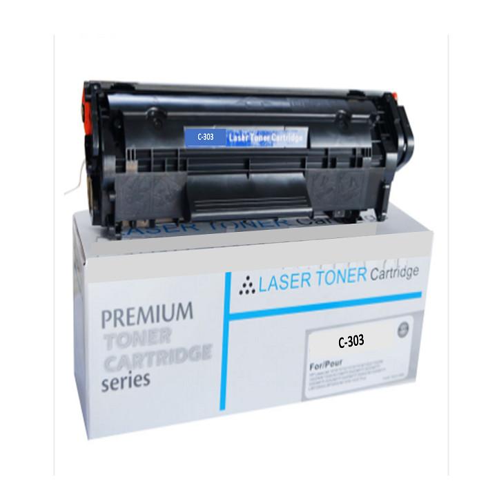 Hộp mực máy in 2900, 303 in đẹp, nhập khẩu mới. Là Cartridge, catrich, toner dùng cho máy in Canon LBP 2900, 3000