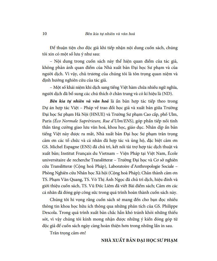 Bên Kia Tự Nhiên Và Văn Hóa (Bìa mềm)