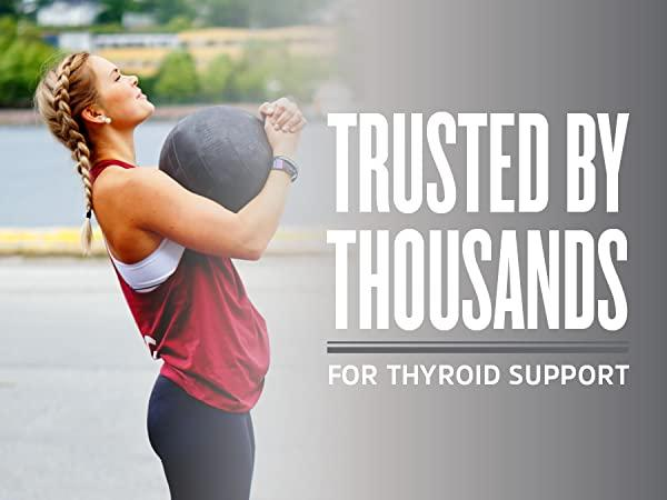 woman exercising - zhou selenium is trusted by thousands for thyroid support