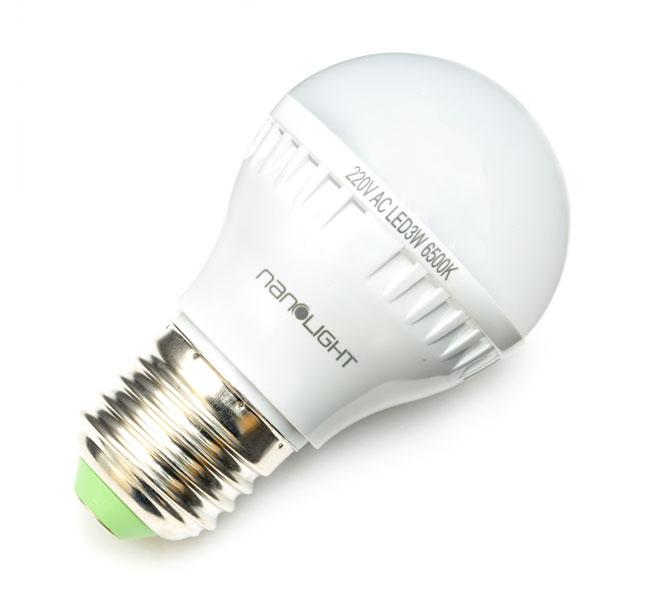 Combo Đèn Lồng Led Sạc Nanolight LL-001 và Bóng đèn LED 3W Nanolight