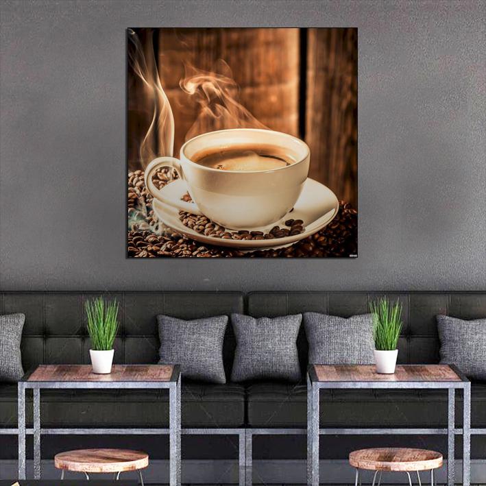 Decal dán tường cà phê hồn Việt GDT-145