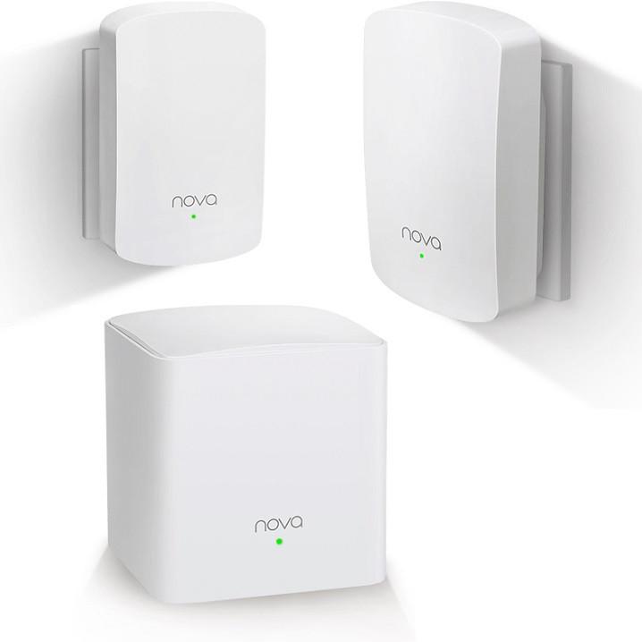 Bộ 3 Thiết Bị Router Wifi Tenda NOVA MW5 - Hàng Chính Hãng