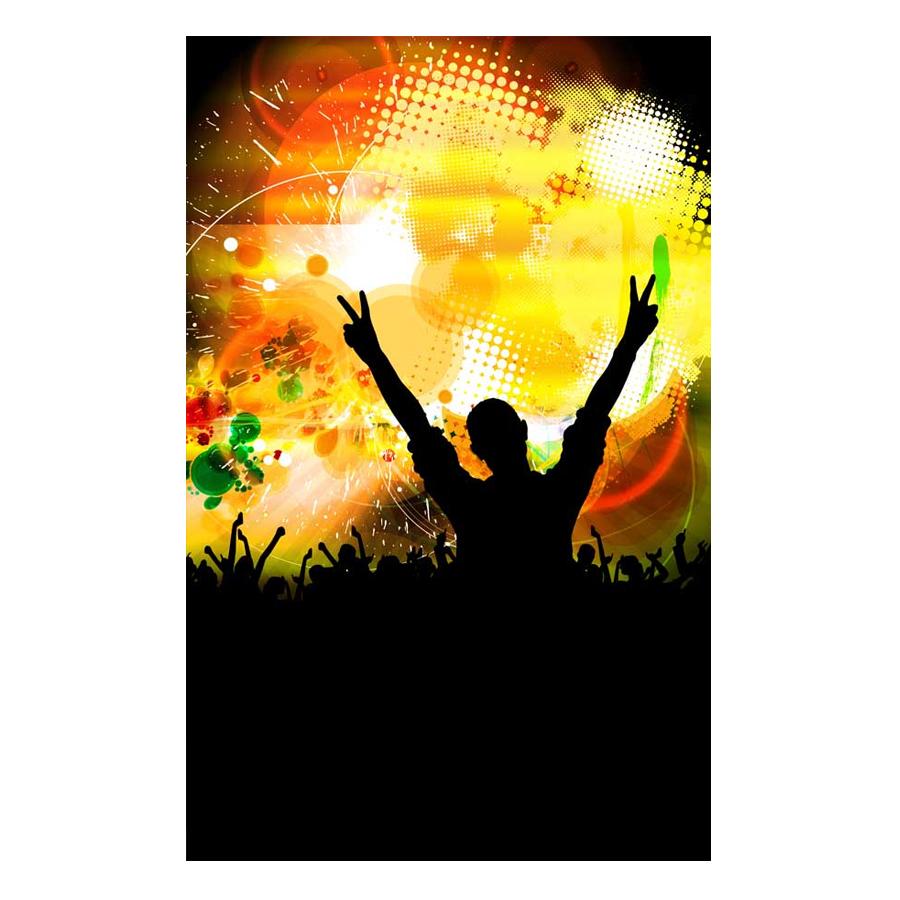 Tranh Dán Tường Karaoke 3D DJ18