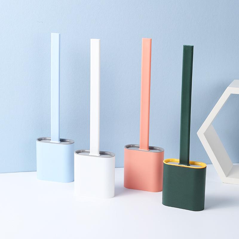 Cọ bồn cầu nhựa dẻo đa năng  - màu ngẫu nhiên