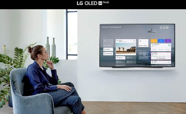 Smart Tivi OLED LG 4K 55 Inch OLED55CXPTA ThinQ AI