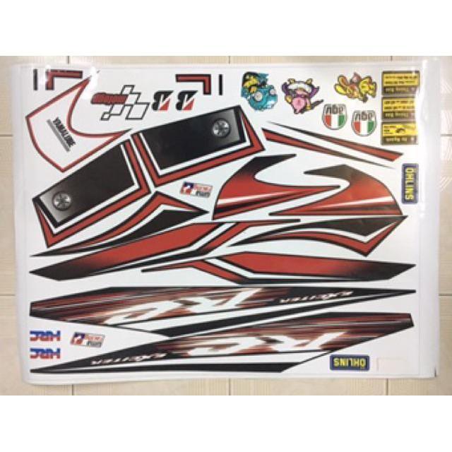 Tem rời dành cho xe máy Exciter 2006-2010 tổng hợp (khách hàng vui lòng gửi hình muốn đặt qua tin nhắn)