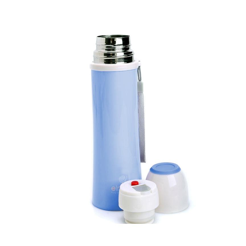 Bình đựng nước 2 lớp INOX 304, Tráng Bạc, 500ml - Hàng Không Giữ Nhiệt (Elmich 2246491kk)