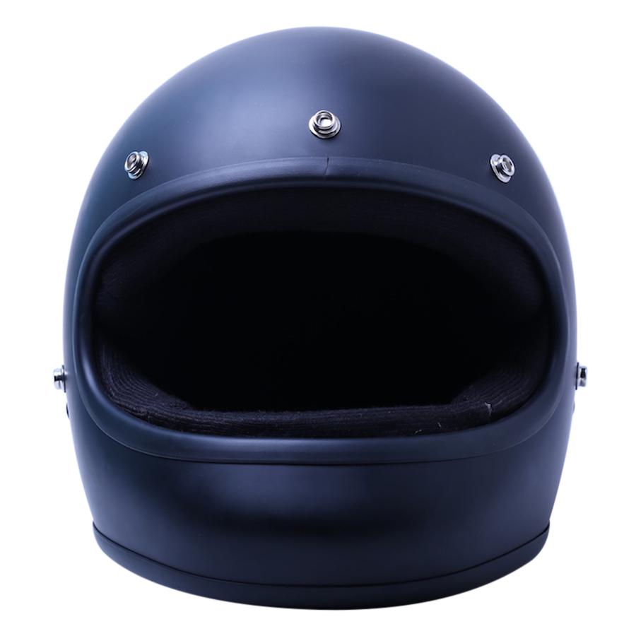 Mũ Bảo Hiểm Chita Fullface Zetta Ron Đen - Đen Sơn Mờ