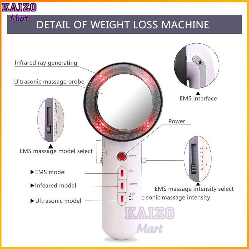 Máy massage cầm tay - Máy mát xa đa năng EMS cao cấp - Massage bụng giảm béo - HDSD Tiếng Việt Kaizo Mart