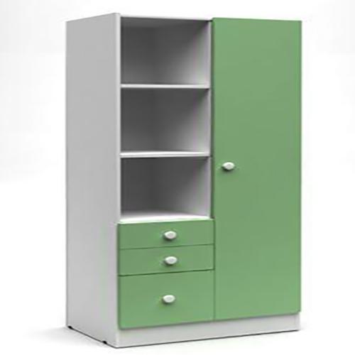 Tủ có kệ và ngăn chứa đa năng làm từ gỗ công nghiệp