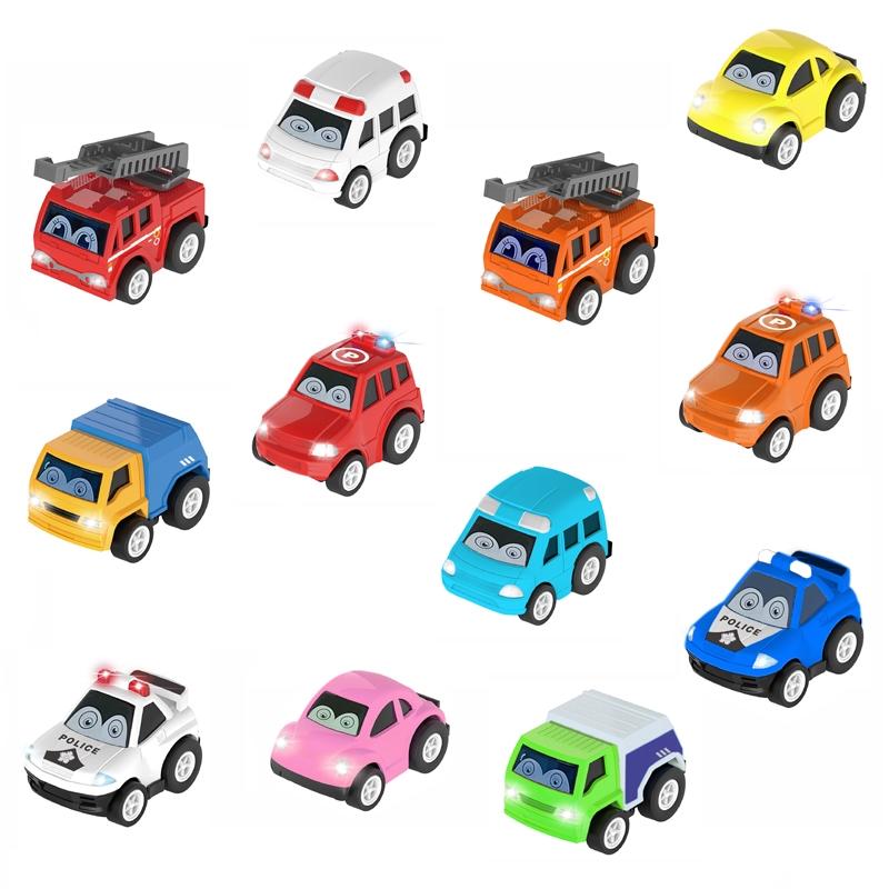 Bộ 12 xe bánh đà ô to mini