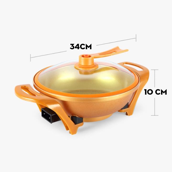 Nồi lẩu điện - Bếp lẩu điện đa năng cao cấp dung tích 6L