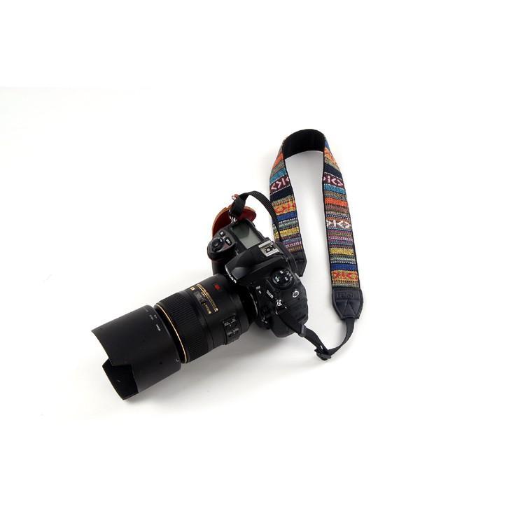 Dây đeo máy ảnh Thổ Cẩm GoTo
