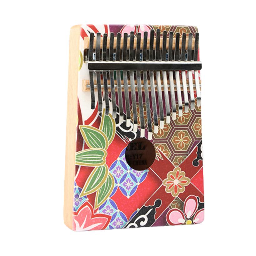 Đàn Kalimba Yael cao cấp 17 phím, Thumb Piano 17 keys - Vintage Decor Tặng kèm khóa học miễn phí