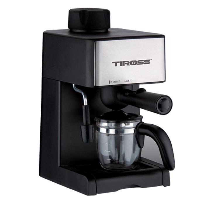 Máy Pha Cà Phê Espresso Tiross TS-621 - Hàng Chính Hãng