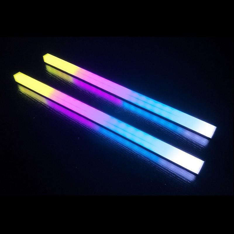 Thanh Led RGB Aura Sync Coolmoon đồng bộ Hub đồng bộ Hub + Sync với main 3Pin 5V cho máy tính - Hàng nhập khẩu