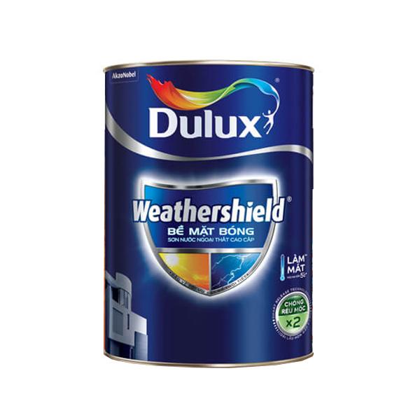 Dulux Weathershield  Bề Mặt Bóng Màu Vàng Đất 14
