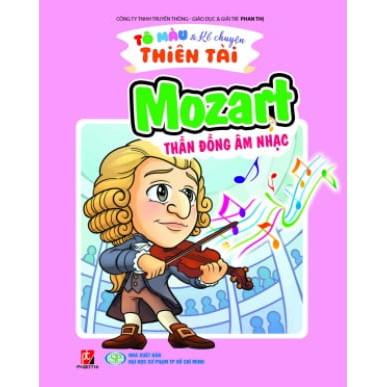 Tô Màu Kể Chuyện Thiên Tài - Mozart Thần Đồng Âm Nhạc