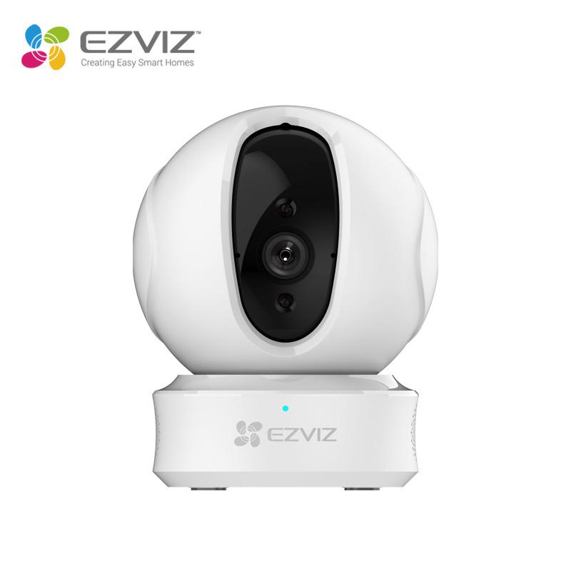 Camera wifi EZVIZ phiên bản nâng cấp C6CN H265 trang bị AI phát hiện chuyển động người, chống ngược sáng WDR, xoay 360 độ, đàm thoại 2 chiều - Hàng chính hãng
