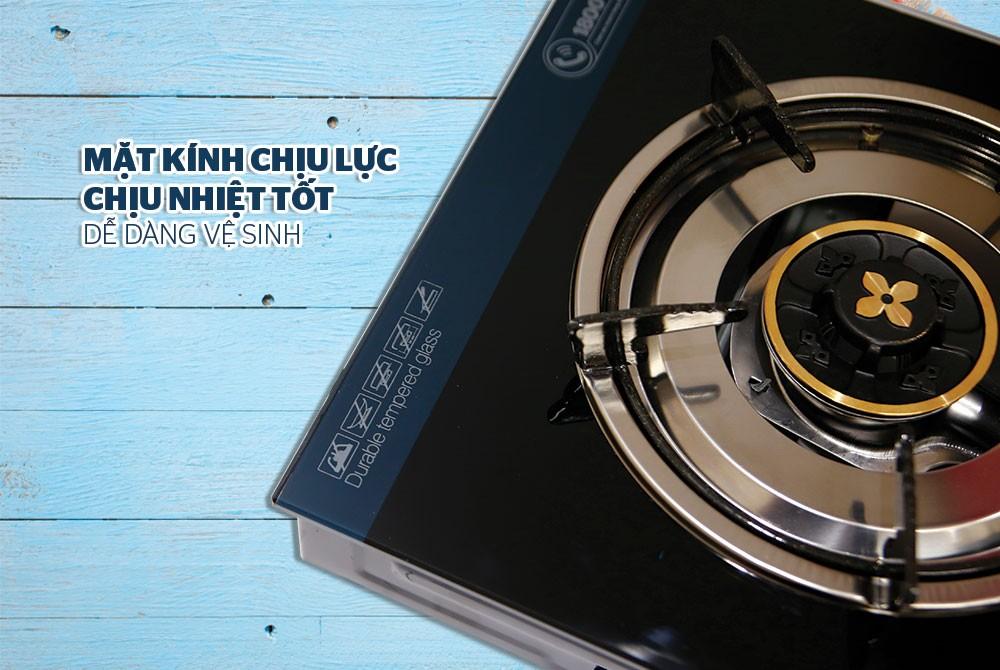 Combo Bếp Gas Dương Đơn Sunhouse SHB212K Kèm Van Dây - Chính Hãng