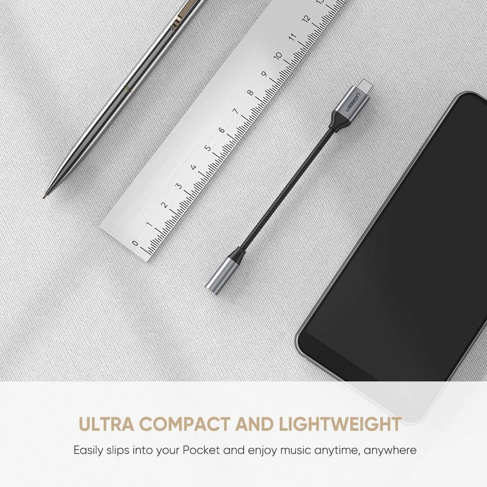 Cáp USB Type C to 3.5mm Ugreen 30632 cao cấp - Hàng Chính Hãng