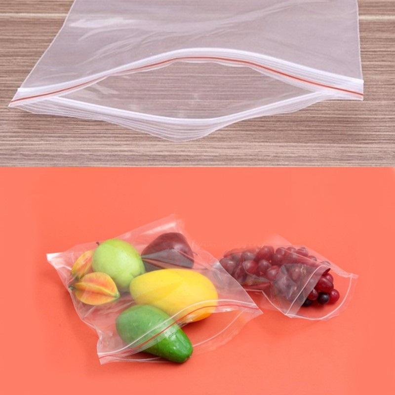 Túi Zipper đựng thực phẩm - size 20 x 30 cm - 1kg khoảng 100 túi