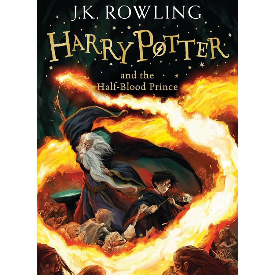 Harry Potter Part 6: Harry Potter And The Half-Blood Prince (Hardback) Large Print Edition (Harry Potter và Hoàng Tử Lai) (English Book)