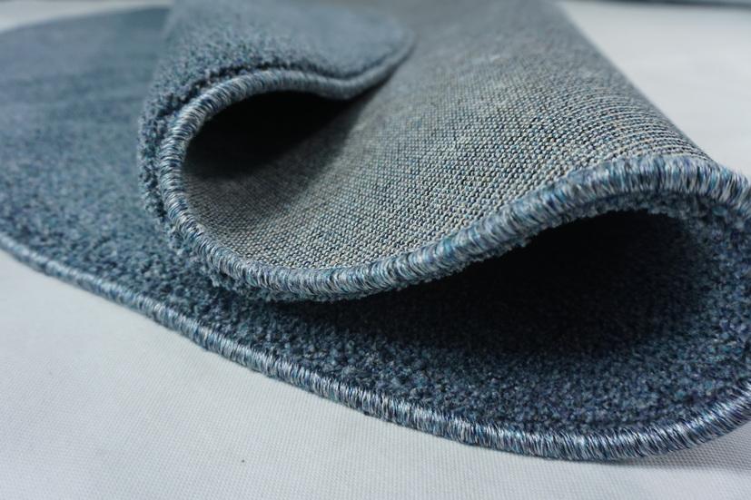Thảm trang trí phòng khách - Thảm trang trí phòng ngủ - Thảm sợi ngắn - Thảm tròn - Thảm nhập khẩu Thổ Nhĩ Kì - Thảm tròn một màu M0021R20