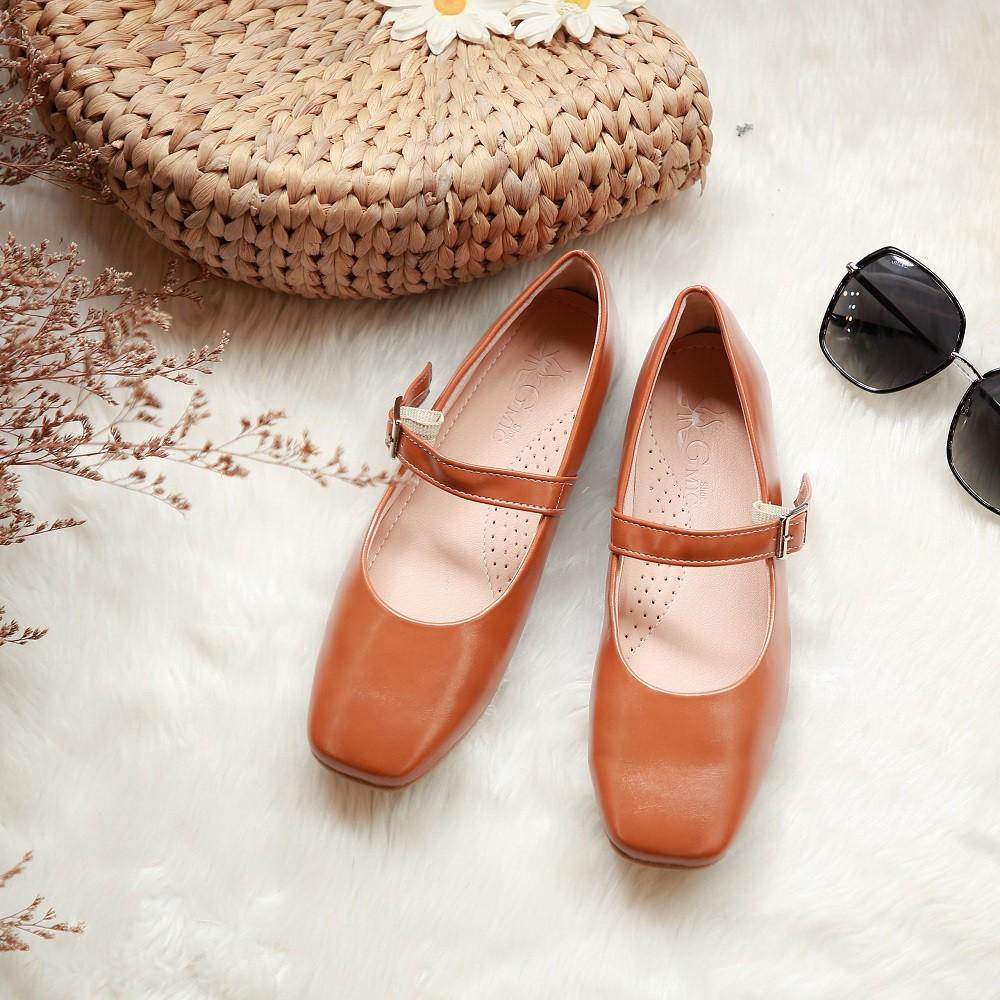 Giày Mary Jane Đế Bệt Thời Trang