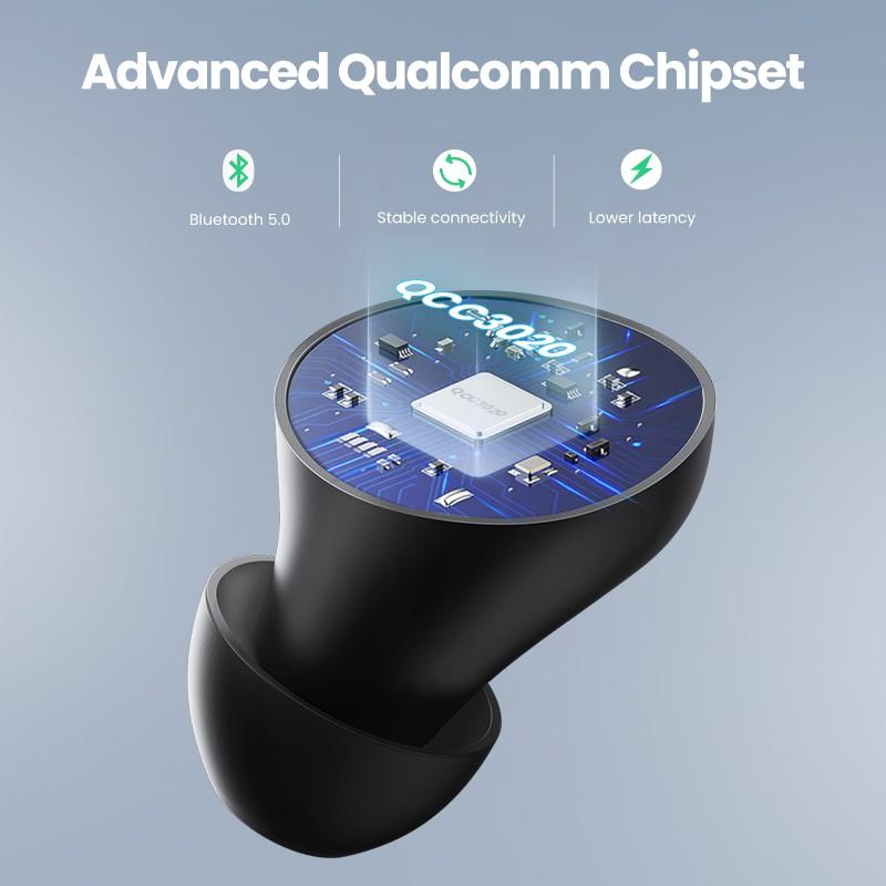 Tai nghe Bluetooth UGREEN 80606 Hi-tune WS100 - Âm thanh Hifi, chống nước IPX5 - Hàng chính hãng