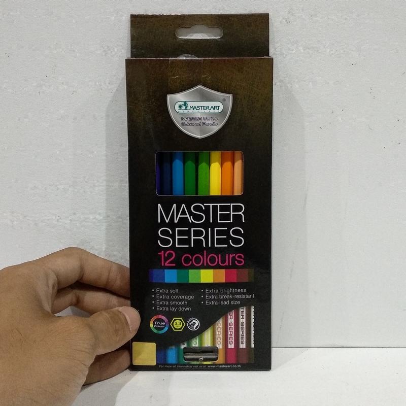 Bộ Màu Vẽ Masterart Series (12 Màu)