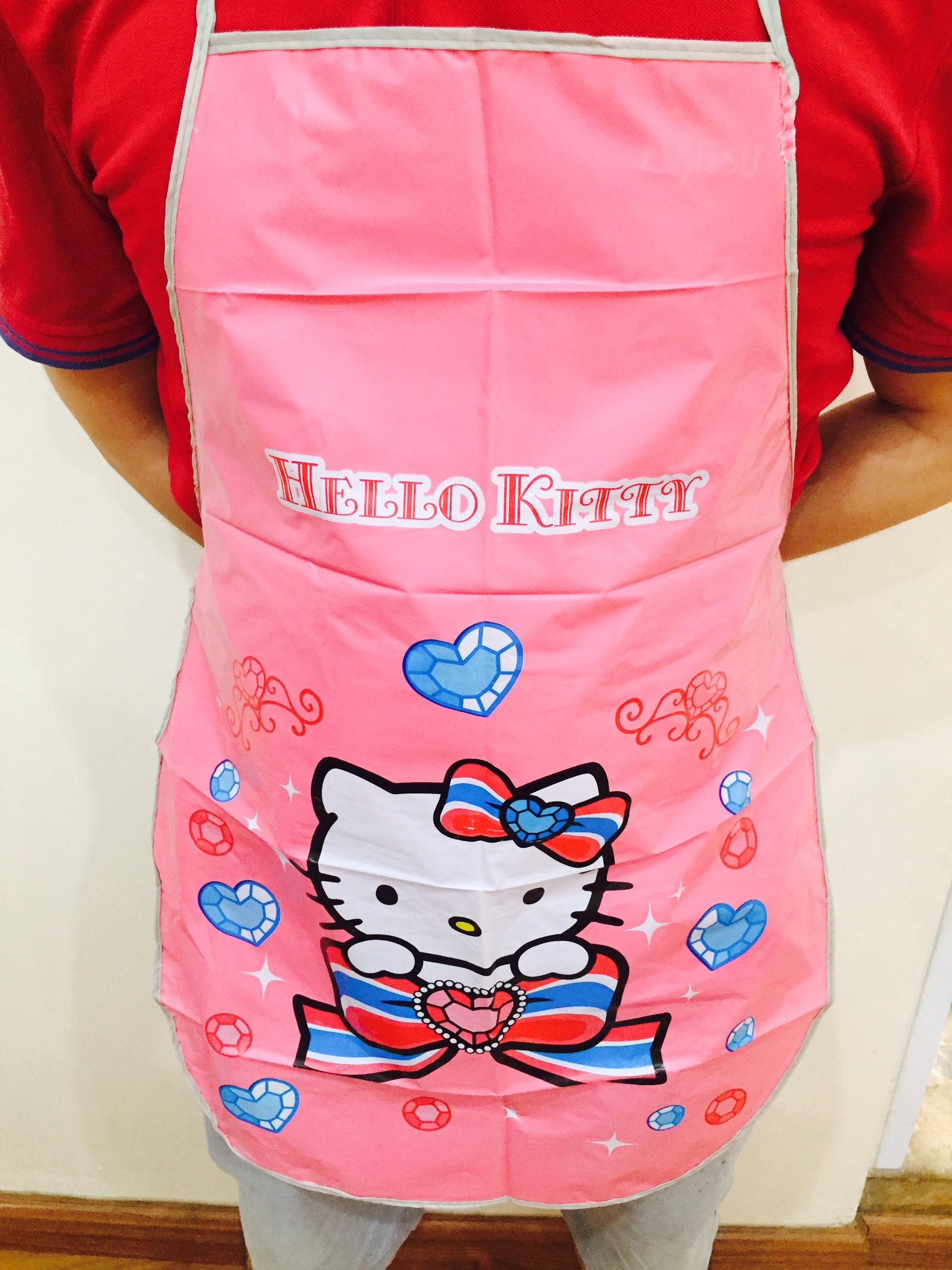 Tạp Dề Dễ Thương Hello Kitty
