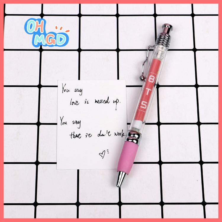 Bút BTS kéo ra hình BTS thần kì