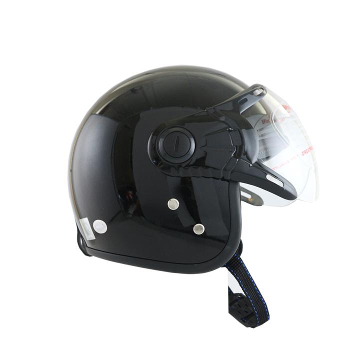 Mũ Bảo Hiểm 3/4 đầu Bktec bk26den- Hàng chính hãng