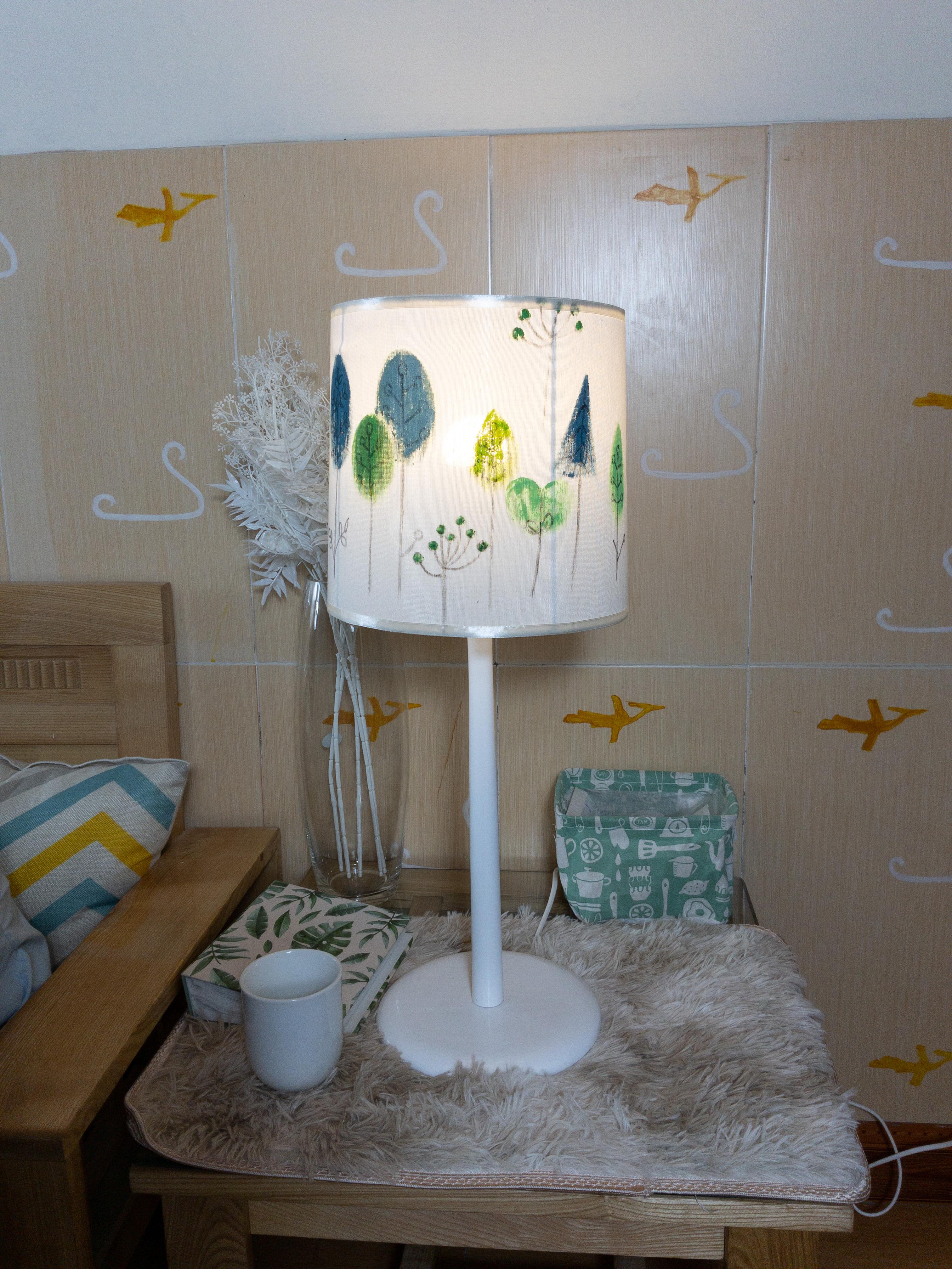 Đèn BÀN gỗ vườn cổ tích- DENTHINHPHAT
