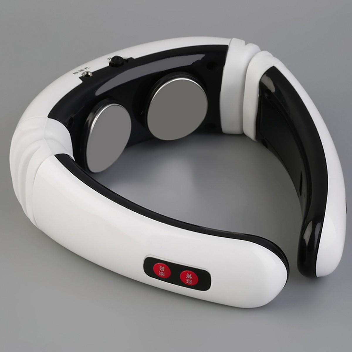 Hai máy masage cổ vai gáy 3D thông minh