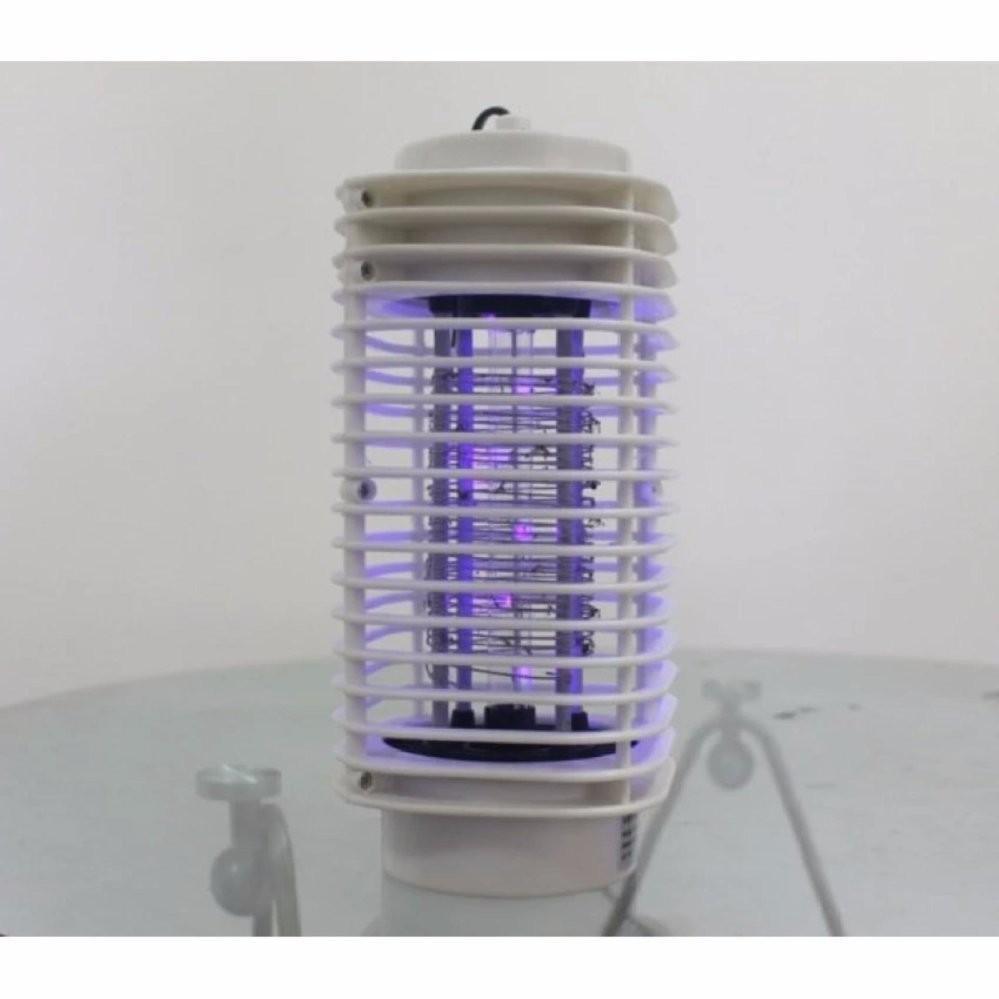 Bộ 2 đèn bắt muỗi và côn trùng hình tháp 3D Trắng
