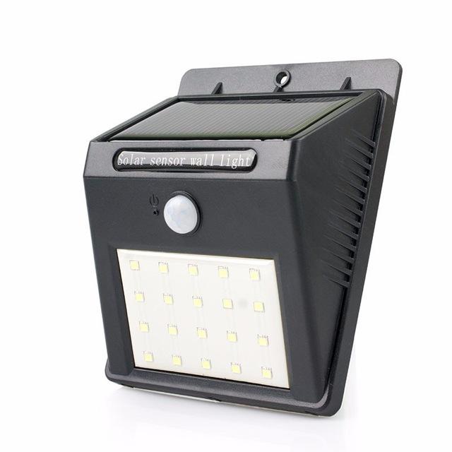 Đèn LED năng lượng mặt trời cảm biến chuyển động