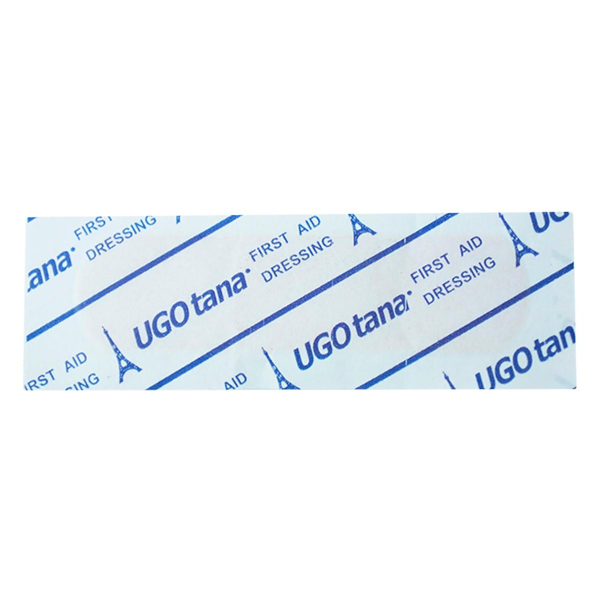 Hộp 102 băng dính cá nhân Ugotana kích thước 19 x 72mm, băng dán cá nhân y tế đã tiệt trùng