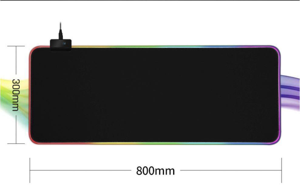 Lót Chuột Gaming RGB 80x30 cm