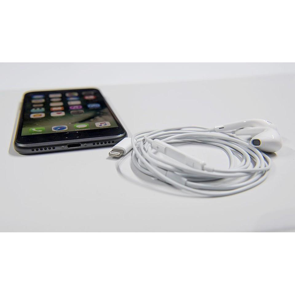 Tai nghe cổng Lightning dành cho iPhone 7/8/X/XR/XS/XS âm thanh chất lượng cao, Bass cực chuẩn