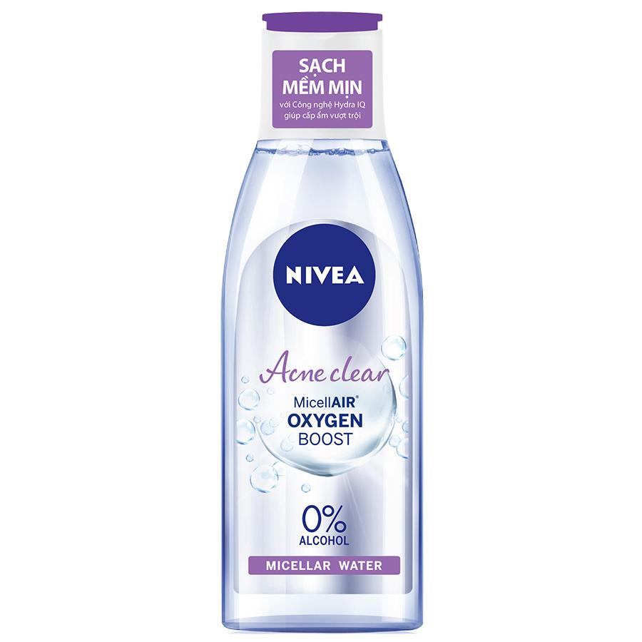 Combo 2 Nước Tẩy Trang Nivea Acne Care Make Up Clear Micellar Water (125ml*2)