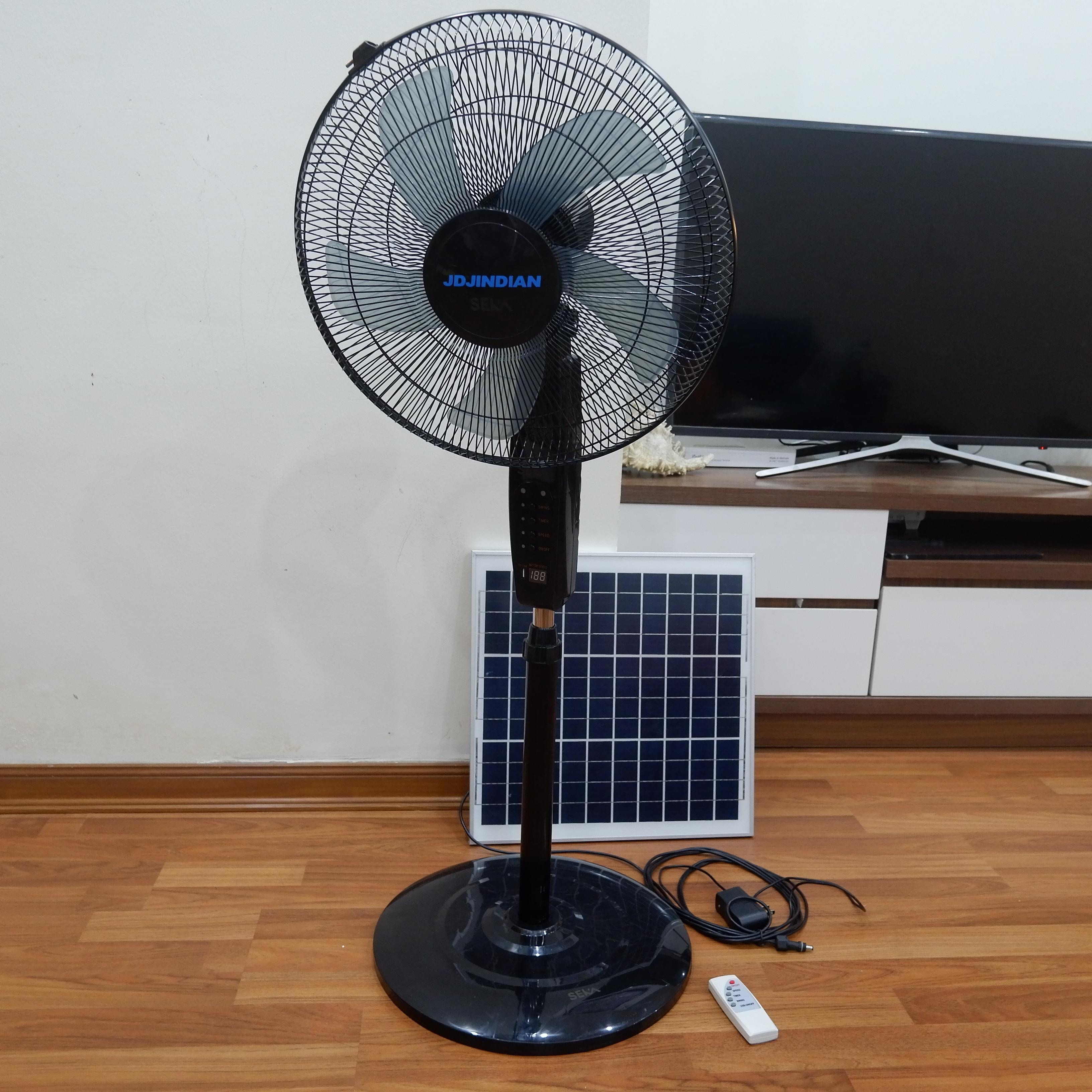 Quạt Năng Lượng Mặt Trời JD-S68 - giải pháp tiết kiệm năng lượng điện và bảo vệ môi trường sống