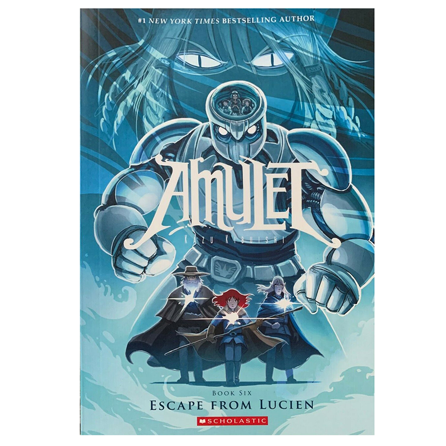 Amulet Book 6 : Escape from Lucien (Graphic Novel)